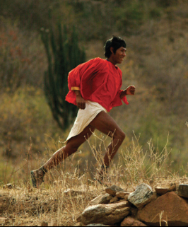 """Tarahumara Indians of Mexico's deadly Copper Canyons"" - Christopher McDougall"
