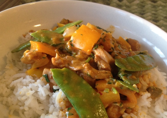 Apricot Curry Chicken