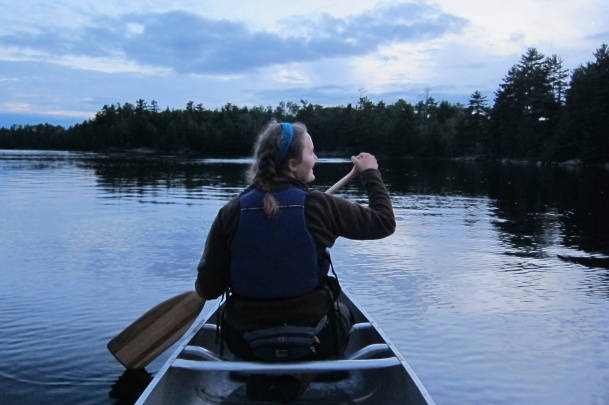 2014 paddling multi day trip in Voyageurs National Park.