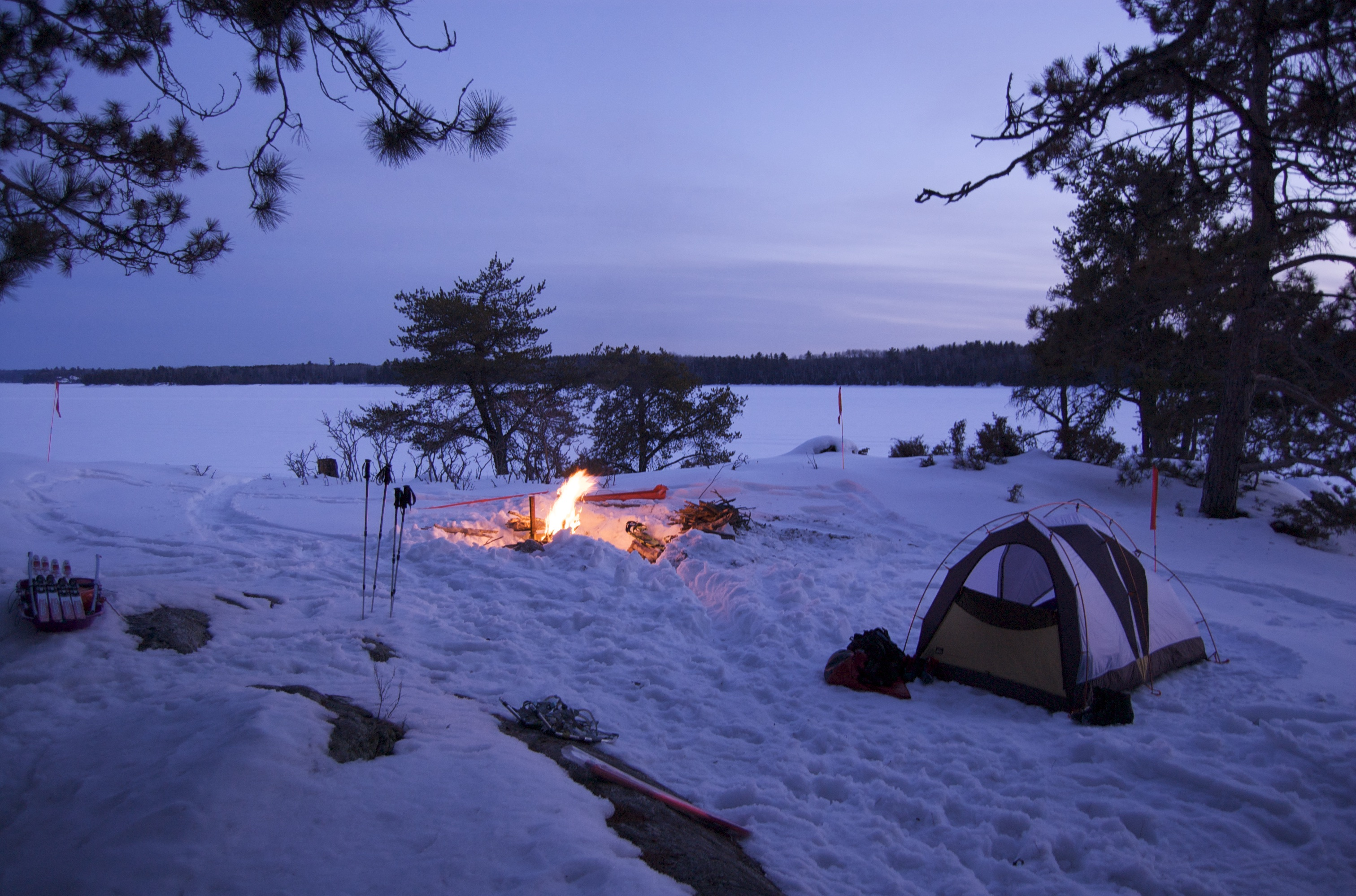 6 reasons i love winter camping midwest with zest for Camping a couture 49