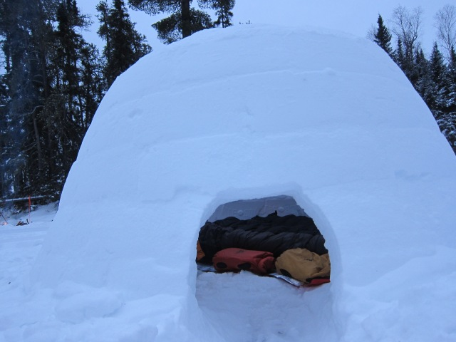 Winter Camping 2015