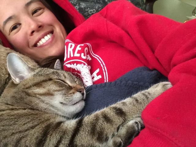kitty napping