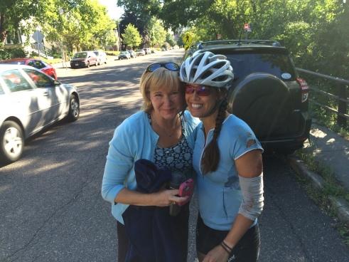 Bike Crash - Nice Lady
